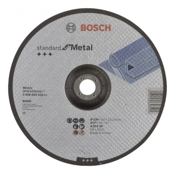 Bosch 230*3,0 mm Standard for Metal Bombeli