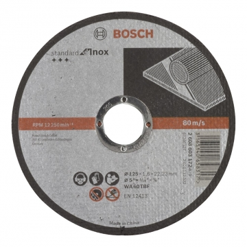 Bosch 125*1,6 mm Standard for Inox