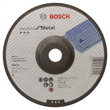 Bosch 180*6,0 mm Standard for Metal