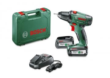 Bosch PSR 14,4 LI-2 Akülü Vidalama Makinesi - 2,5 Ah Çift Akü