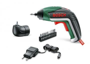 Bosch IXO Akülü Vidalama Makinesi + Köşe Adaptörü