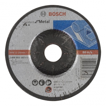 Bosch 125*6,0 mm Standard for Metal