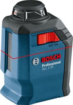 Bosch GLL 2-20 Professional Çapraz Çizgi Lazeri