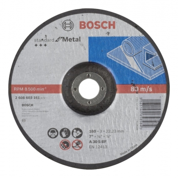 Bosch 180*3,0 mm Standard for Metal Bombeli