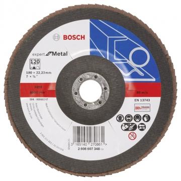 Bosch 180 mm 120 K Expert for Metal Flap Disk