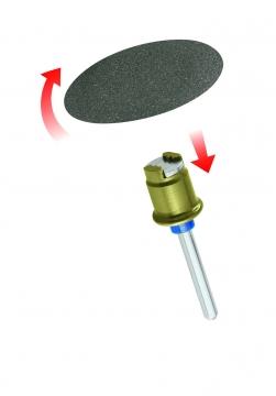 DREMEL® EZ SpeedClic: zımpara diskleri (SC413)