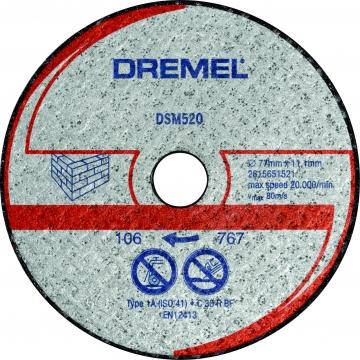 DREMEL® DSM20 duvar kesme diski (DSM520)