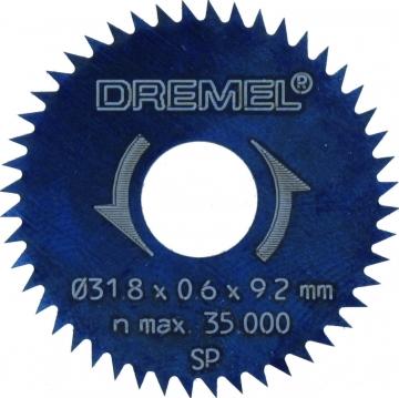 DREMEL® Yarık/Çapraz Kesim Bıçağı 31,8 mm (546)