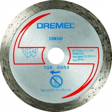 DREMEL® DSM20 elmas fayans kesme diski (DSM540)