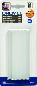DREMEL® 7 mm Çok Amaçlı Yüksek Sıcaklık Tutkal Çubukları (GG01)