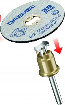 DREMEL® EZ SpeedClic: metal kesme diskleri 5\'li paket. (SC456)