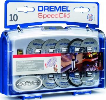DREMEL® SpeedClic kesme aksesuar seti (SC690)