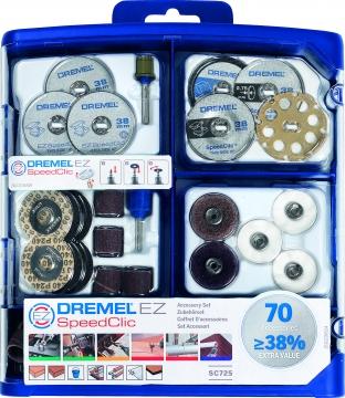 DREMEL® SpeedClic çok amaçlı aksesuar seti (SC725)