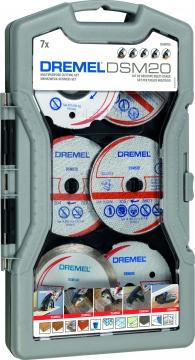 DREMEL® DSM20 çok amaçlı kesme kılavuzu seti (DSM705)