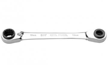 B07-B01 4'lü C-GEAR Cırcırlı Kombine Anahtar
