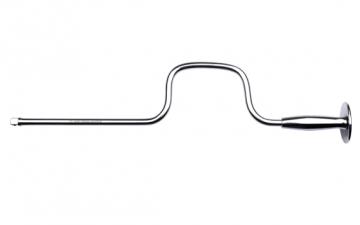 """C01-50MR 1/4"""" Fırdöndü Kol (Metal Avuç Saplı)"""