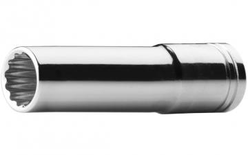 "C14A-B Serisi 3/8"" 12 Köşe (Yıldız) Derin Lokma Anahtarlar - Inch"