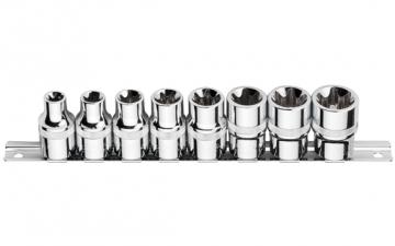 C26-R08 8 Parça 1/2'' Dış TORX Lokma Anahtar Takımı