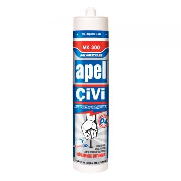 APEL PU Sıvı Çivi/PU Montaj kit 390 gr.