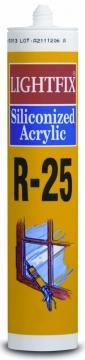 R-25 SİLİKONİZE MASTİK