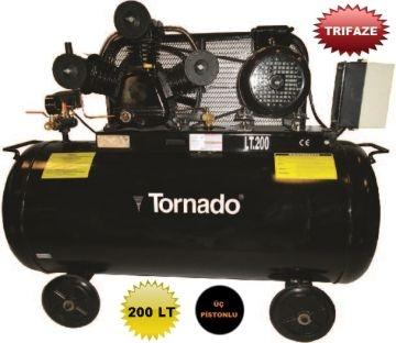 Tornado 200 Lt. Hava Kompresörü