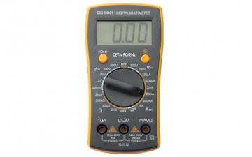 G80-MDC1 Dijital Multimetre (DC Akım-Manuel Sınıflama)