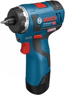 Bosch Professional GSR 12 V-20 HX EC 2,5 Ah Çift Akülü Delme/Vidalama - Kömürsüz Motor