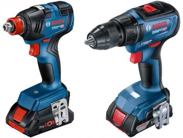 Bosch GDX 18V-200 + GSR 18V-50 x GBA 18V 4.0Ah + GAL 18V-40 L-BOXX